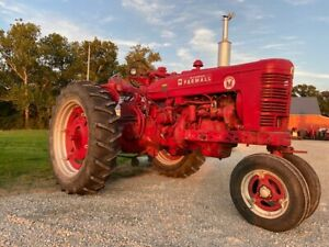 Farmall Super M Lous Sm Ih Tractor Live Hydraulic Power Steering Pto 14 9 Weight