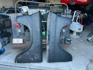 Nos 1958 1959 Chevrolet Truck Fenders And Hood 3100 Pickup Chevy Holy Grail