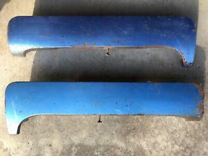 1960 Cadillac Rear Fender Skirts Left Right Pair Oem Deville Other Cadillac