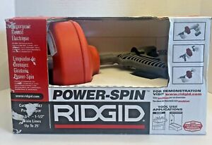 Ridgid Power Spin Drain Cleaner Snake 88387 3 4 1 1 2 Drains With Autofeed