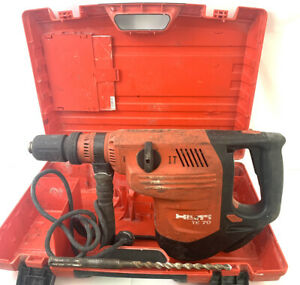 Hilti Te 70 Rotary Hammer Drill With Hard Case And 1 Bit