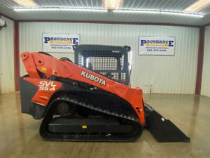 2018 Kubota Svl95 2s Orops Skid Steer Track Loader With Manual Quick Attach