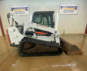 Bobcat T770 Cab Hst Track Skid Steer With A c And Heat