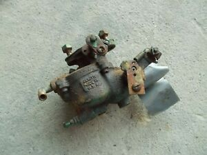 Oliver 70 Tractor Non Working Carburetor Core Assembly Choke Is Froze Up