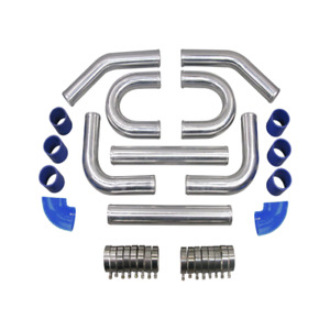 Cx Universal 2 5 Aluminum Intercooler Piping Kit Supercharger Kit 2mm Thick