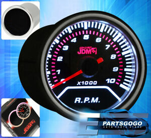Jdm 2 Tachometer Rpm Gauge Smoked Tint 52mm Supra Highlander 4runner Fj Crusier