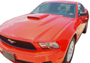 Factory Style Painted Hood Scoop Fits 2005 2014 Ford Mustang Fits 2005 Ford Mustang