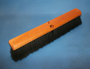 Two Heavy Duty Heat Resistant Foundry Brooms 18 Blk Tampico With A Wire Center