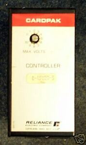 Reliance Electric Cardpak Controller 0 49020 5 Module
