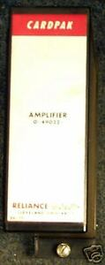 Reliance Electric Cardpak Amplifier 0 49022 Module