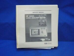 Hp 16500a Logic Analysis System Service Manual