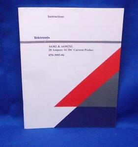 Tektronix A6302 A6302xl Instruction Manual