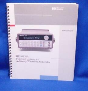 Hp 33120a Function Waveform Generator Service Guide
