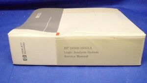 Hp 16500 16501a Logic Analysis System Service Manual