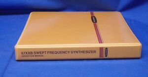 Wiltron 67xxb Frequency Synthesizer Operation Manual