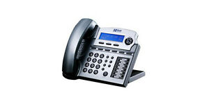 Xblue X16 Digital Telephone Bklit Speakerphone Platinum