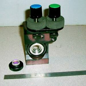 2 axis Adjustable Optic Mount Stage With 15mm Filter