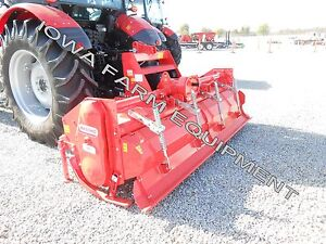 Rotary Tiller Heavy Duty Maschio Sc250 103 Tractor 3 pt Pto 170hp Gearbox