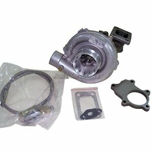 Universal T3 T04e Turbo Charger Oil Line Flange For Ford 2 3l New Design