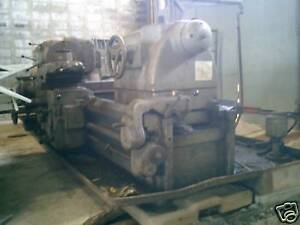 Lathe Turning 108 7 Center American Pacemaker 25hp