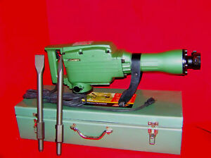 Electric Demolition Jack Hammer W Punch Chisel Tools