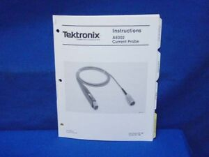 Tektronix A6302 Current Probe Instructions