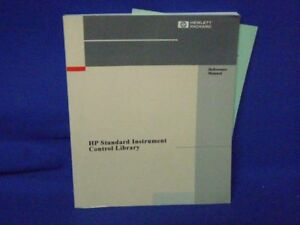 Hp Standard Instrument Control Library Reference Manual