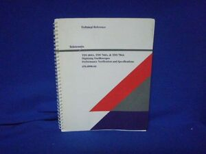Tektronix Tds 684a 744a 784a Technical Reference Manual