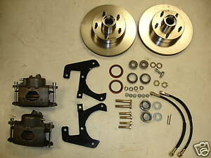 1949 1950 1951 1952 1953 1954 Chevrolet Car Belair Front Disc Brake Conversion