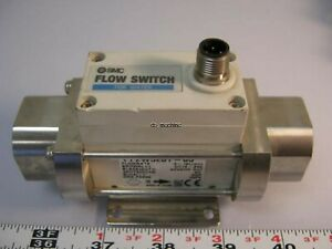 Smc 3 8 npt 2 16l Flow Switch For Water Pf2w520t 03