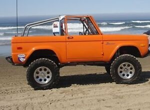 Roadster Roll Bar Roll Cage 66 77 Ford Bronco