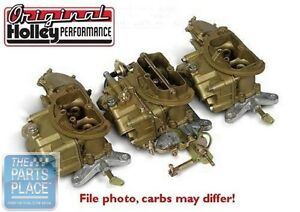 1969 70 Chrysler Six Pack Holley Carburetors 4144 1 4365 1
