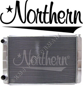 Northern 209627 Aluminum Racing Radiator Ford Mopar 31 X 19 Double Pass Race Pro