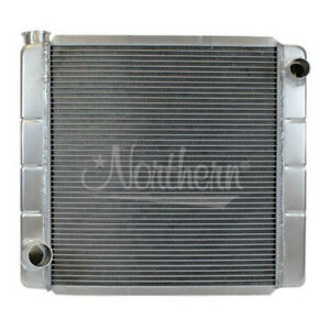 Northern 209670 Universal Aluminum Racing Radiator Ford Mopar 22x19 Circle Track