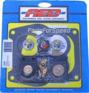 Aed 4165 Holley Rebuild Kit Double Pumper Spreadbore Carb 50cc Diaphragm
