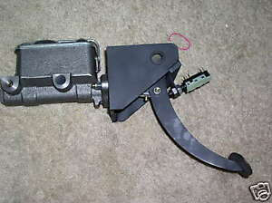 Master Cylinder Firewall Mount T Bucket Hot Rod Rat Brake Pedal 23 32 Coupe Ford