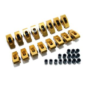 396 427 454 Bbc Big Block Chevy Aluminum Roller Rocker Arms 1 7 Ratio 7 16 Stud