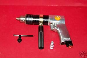 New 1 2 Air Drill Reversible 1 2 Drill Chuck Pneumatic Power Drilling Tools