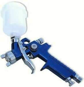 Mini Hvlp Air Paint Spray Gun Auto Car Detail Sprayer Gravity Air Touch Up Gun
