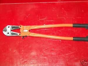 2pcs 30 Bolt Cutter Cropper Cutter Shears Jaw Blades Cut Chain Wire Fence Rebar