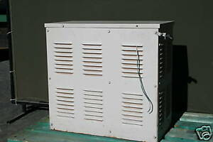 General Electric 5 00 Kva Electrical Voltage Stabilizing Transformer 3 Phase