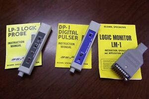 Lot Of 3 Global Specialties Testing Devices