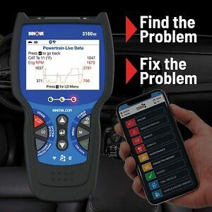 Innova 3160rs Scanner Diagnostic Scan Tool Code Reader Obd2 Abs Srs Bluetooth