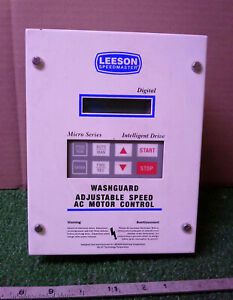 1 Used Leeson Speedmaster 174939 00 Adj Speed Ac Motor Control make Offer