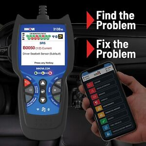 3140 Scanner Diagnostic Scan Tool Code Reader Obd2 Can