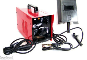 Arc Welder 130 Amp Machine Rod Welding 110 Volt Ac Soldering Tools Stick