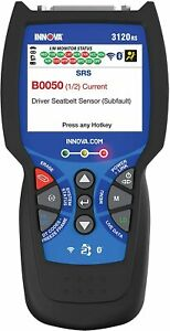 Innova 3120f Scanner Diagnostic Scan Tool Code Reader Obd2 Obd1 Eobd Jobd Can