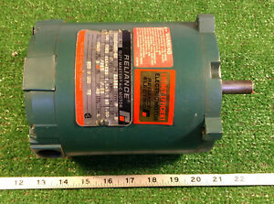 1 Used Reliance P56h3003m sm 1 4 Hp Duty Master A c Motor make Offer