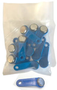 Blue Keytabs Ibuttons For Ibutton Job Site Time Clock