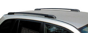 Perrycraft 45 Black Roof Side Rails Cargo Carrier Luggage Skis Travel New
